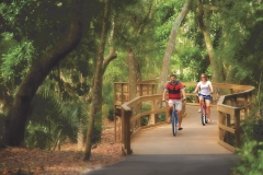 ride your bikes on egans greenway