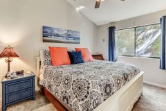 lovely master bedroom of our amelia island condo