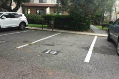 private parking spot for our amelia condo at forest ridge village