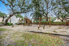 the beautful amelia condo landscaping includes a playground