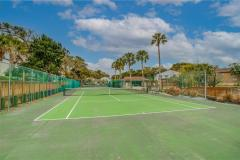 tennis courts at our amelia island condo
