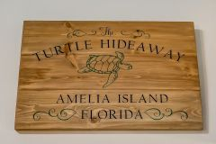 we call our amelia island condo the turtle hideaway